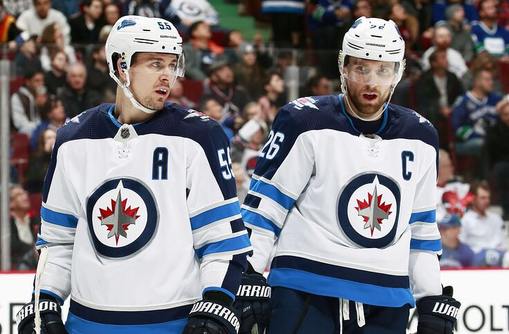 big sale 0a534 57208 Winnipeg Jets Dynamic Duo is an NHL Throwback Pairing