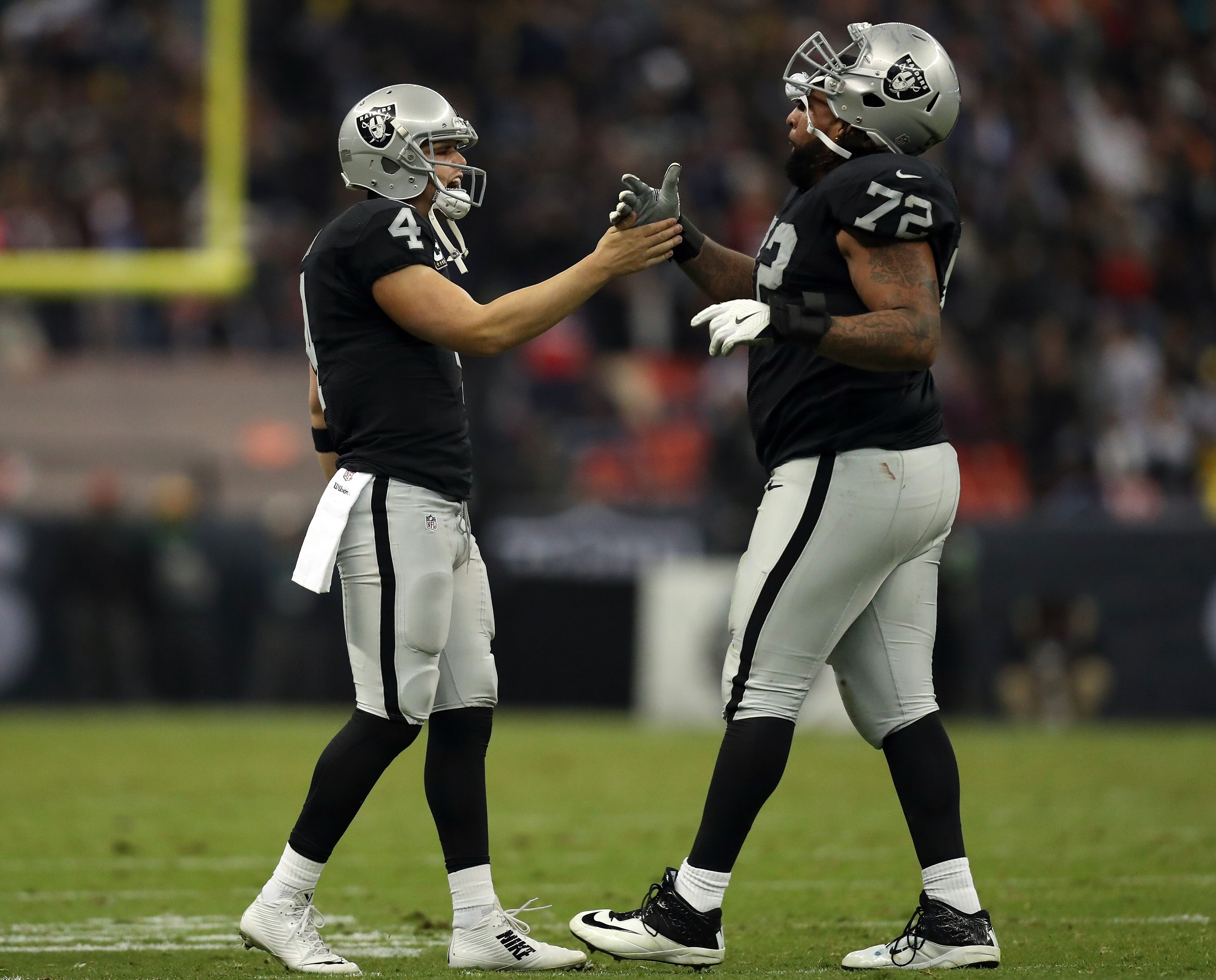 Donald Penn is off the PUP list, will shift to right tackle