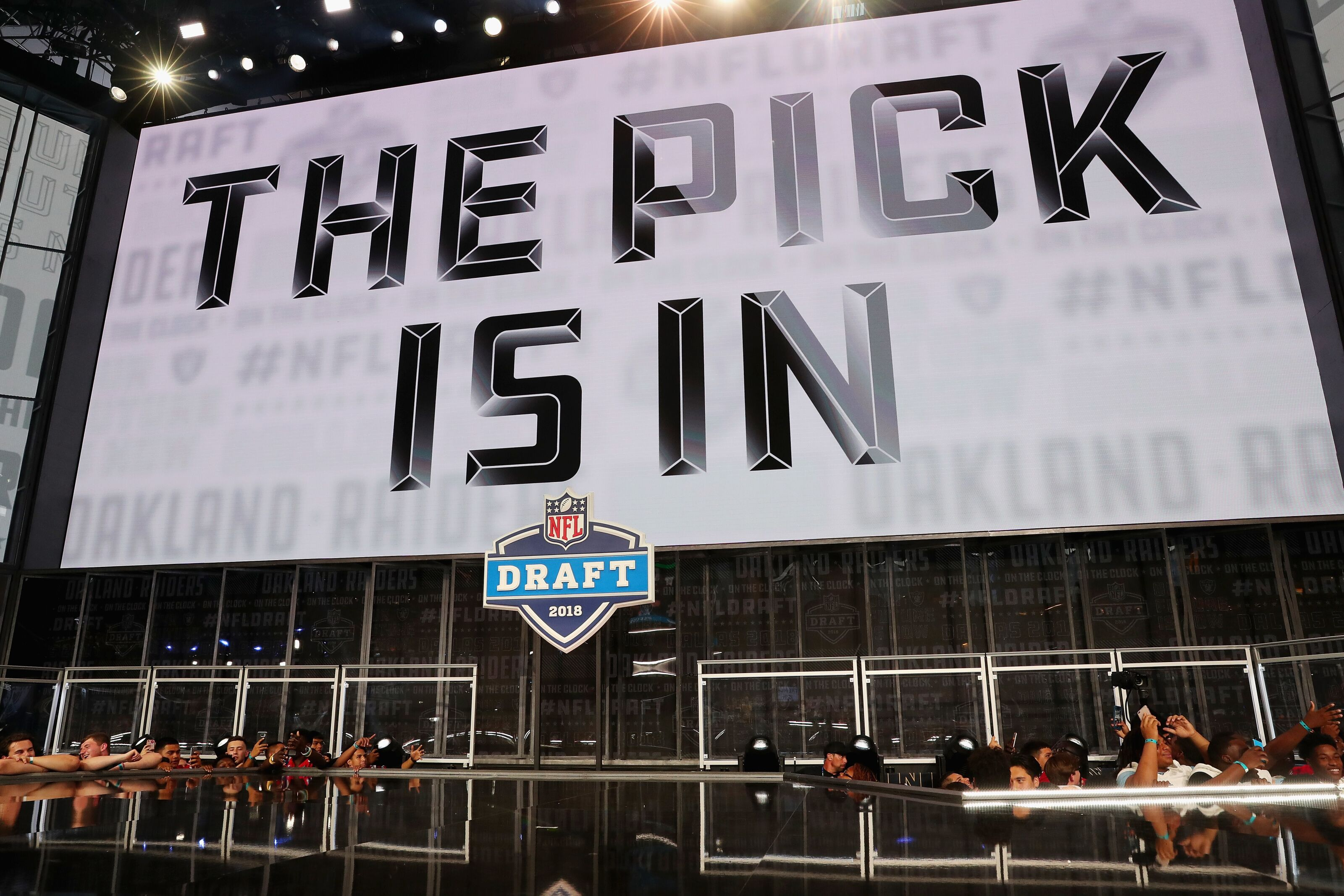 Oakland Raiders hold six of the first 100 picks in 2019 NFL Draft