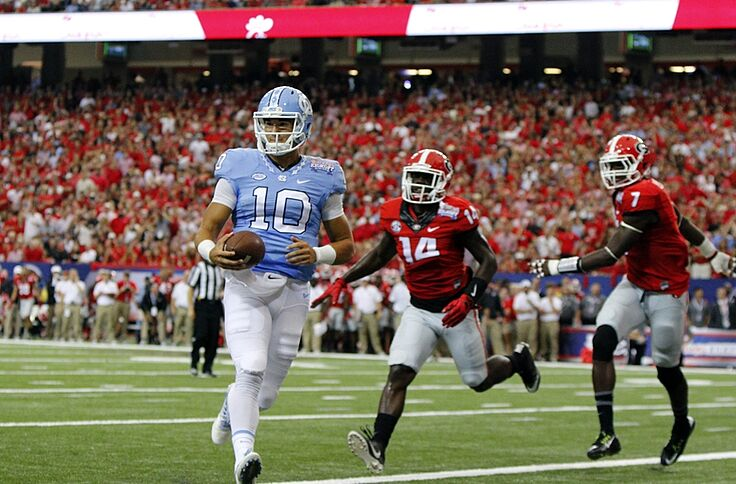 the best attitude 12d4d 2eba5 UNC Football: Jersey combination against Virginia Tech