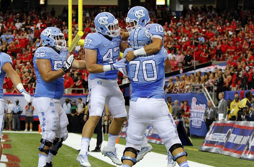 040595467 UNC Football  Tar Heels Prepare to Invade Illinois on Saturday