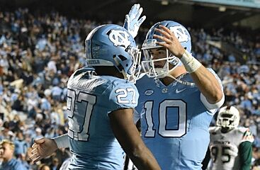 UNC Football  Tar Heels release uniform combination for GT game 6b810bf70