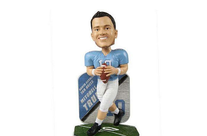 9f8ef14498d North Carolina fans need this Mitch Trubisky bobblehead