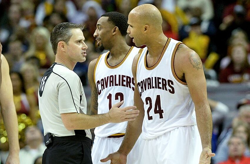f342b1178ddf Cleveland Cavaliers  Two Minutes Report About Richard Jefferson Is Not  Effective