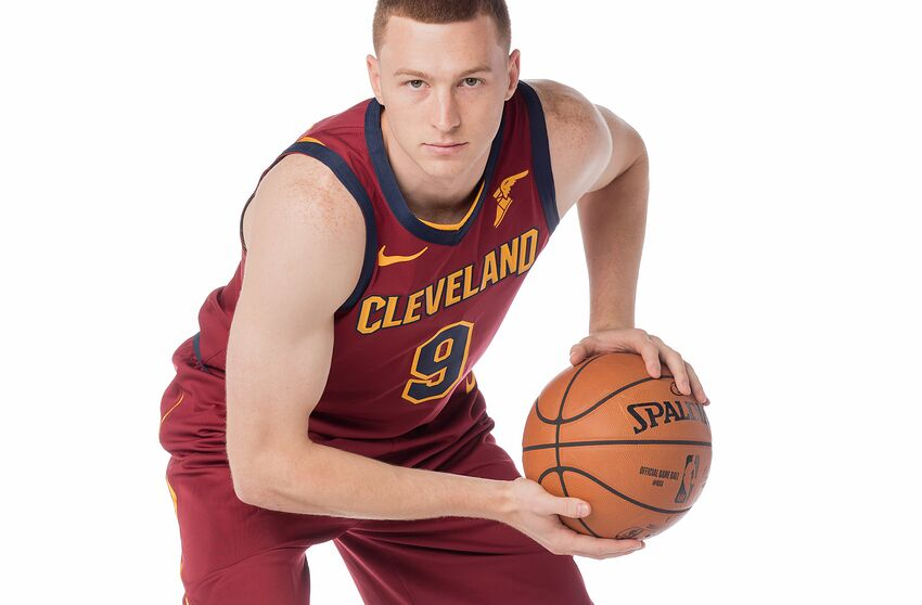 Cleveland Cavaliers wing Dylan Windler (Photo by Alex Nahorniak-Svenski/NBAE via Getty Images)