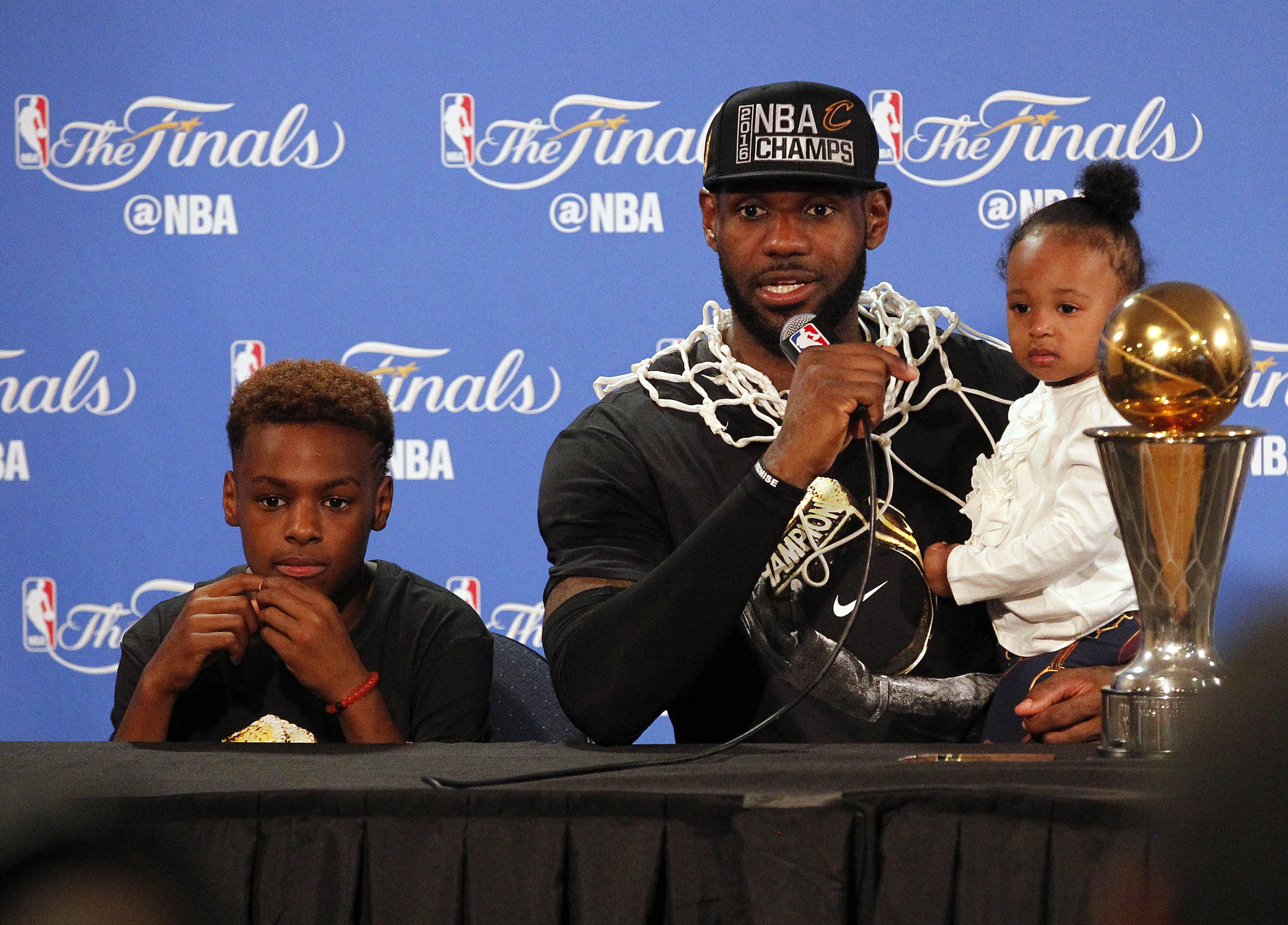 5 teams we want to see LeBron James and LeBron James Jr ...