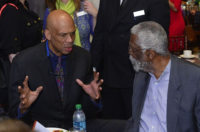 Bill Russell And Kareem