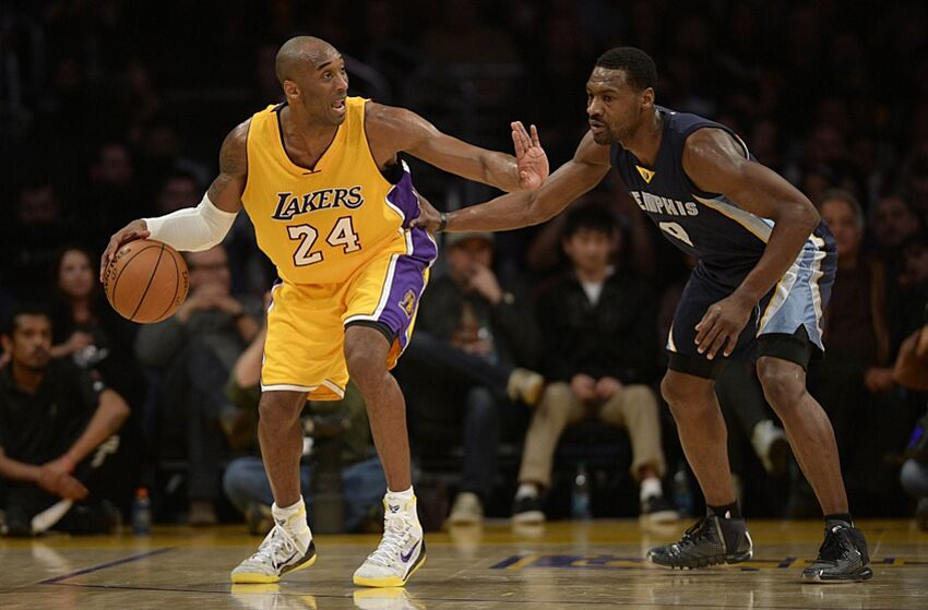 84d87c313c3 Lakers  Kobe Bryant Calls Tony Allen  Best Defender  He s Faced