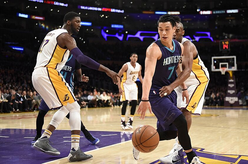 e05ed7d6c3b Jeremy Lin  Former Lakers  Guard Thriving in NBA Playoffs
