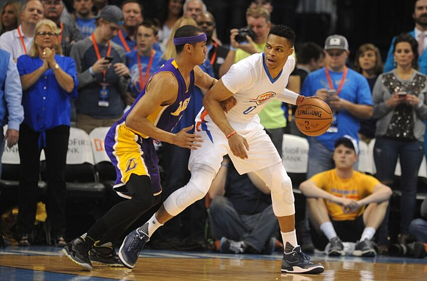 4de375f8b02d34 Lakers  Jordan Clarkson Talks Free Agency and Hard Work