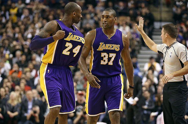 世界和平:Kobe曾讚我是最偉大防守球員,但我從來都沒贏過他!-Haters-黑特籃球NBA新聞影音圖片分享社區