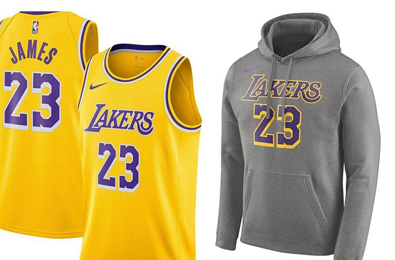 0817878fc Get your brand new Los Angeles Lakers jerseys from Fanatics