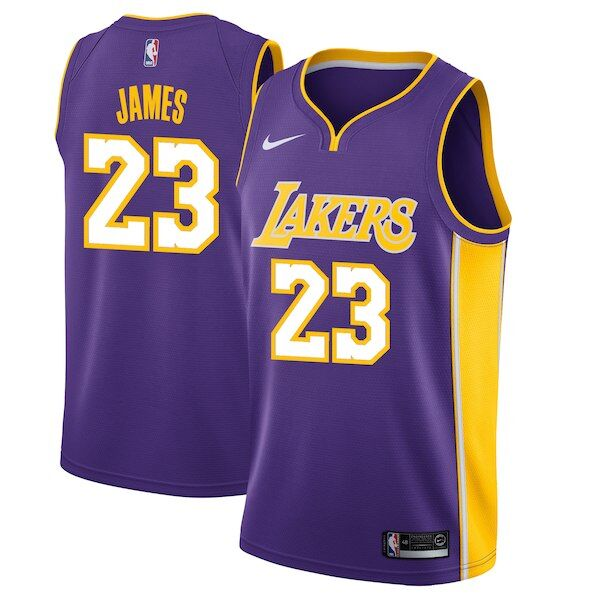 Los Angeles Lakers Get Your Lebron James Jersey Now