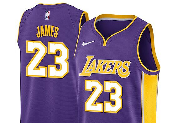 68e727680a12 Los Angeles Lakers  Get your LeBron James jersey now