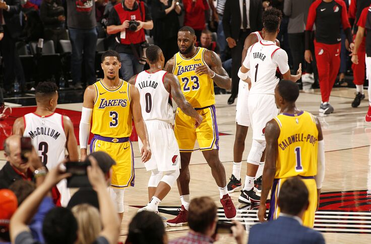 Los Angeles Lakers Vs Portland Trail Blazers Game 9 Preview