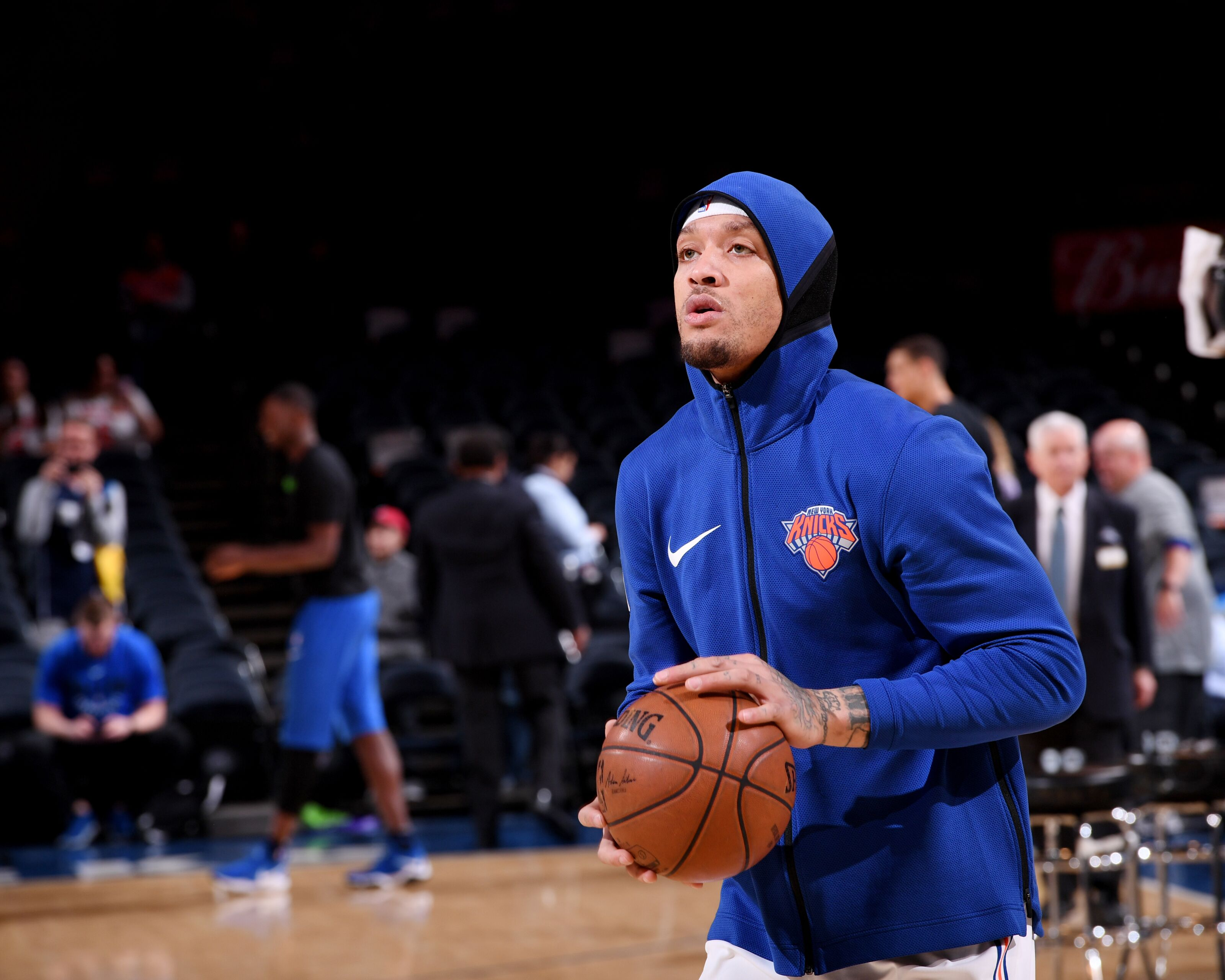 New York Ny March  Michael Beasley  Of The New York