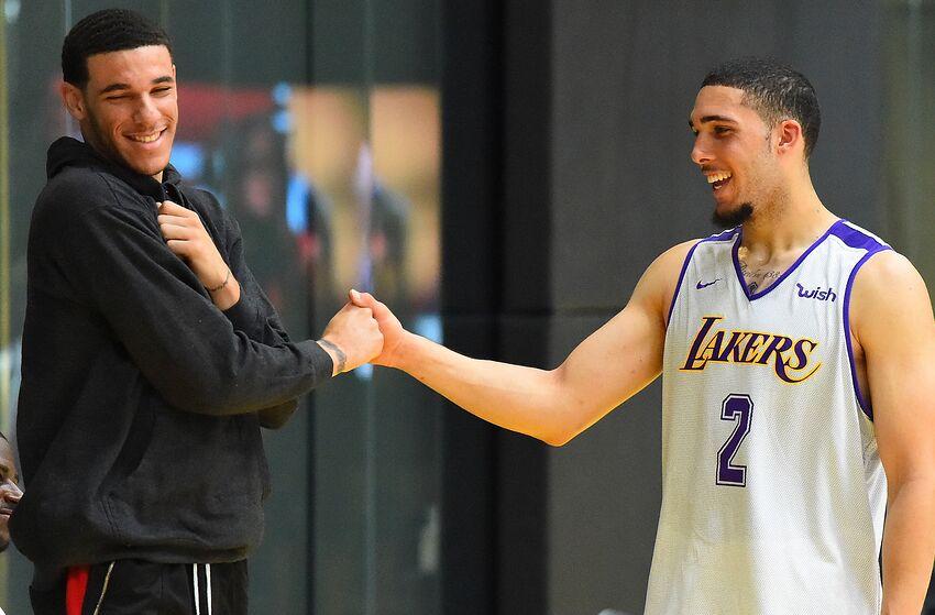 8b8e88fe57cb Los Angeles Lakers still where LiAngelo Ball wants to be