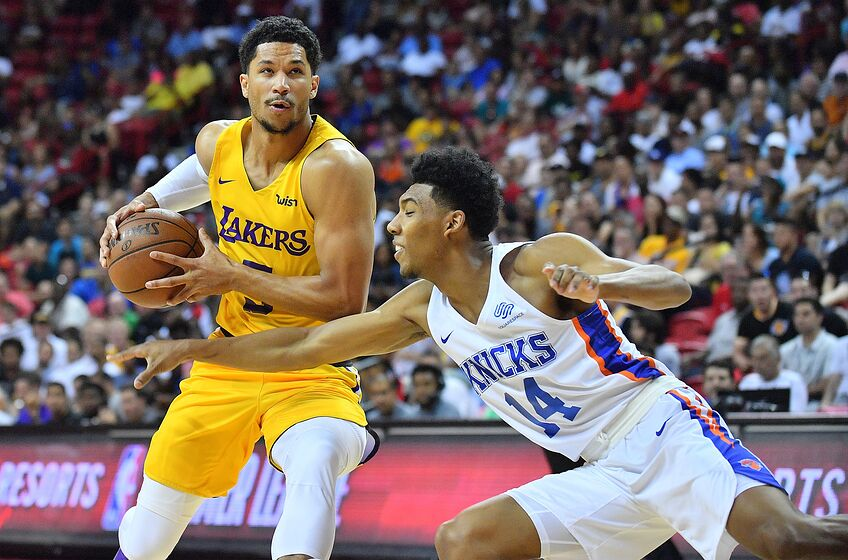 a73456edd Los Angeles Lakers vs. New York Knicks  Game 39 preview