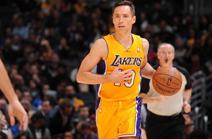 great fit 49cfe 984f9 Los Angeles Lakers' trade for Steve Nash finally ending in ...