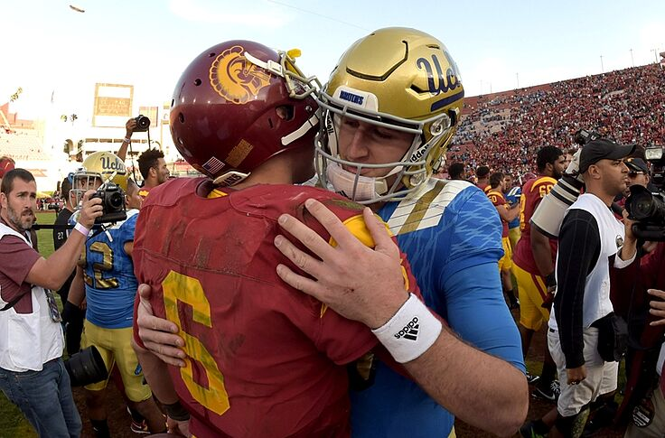 newest 14008 618d2 Nov 28, 2015  Los Angeles, CA, USA  Southern California Trojans quarterback