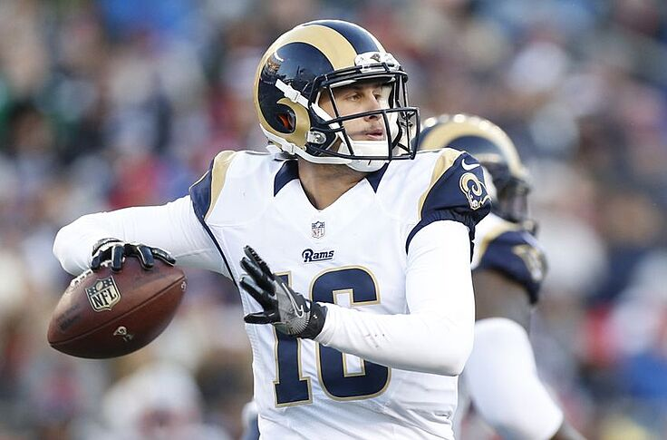 big sale 2af49 ff833 Rams Color Rush: Los Angeles switches up jerseys against Seattle
