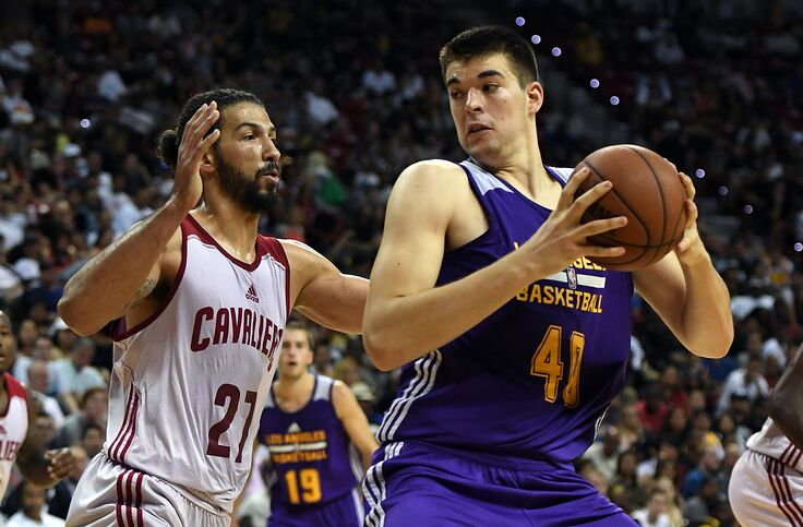 73fdbed7b Los Angeles Lakers  Ivica Zubac will be the surprise star of next season