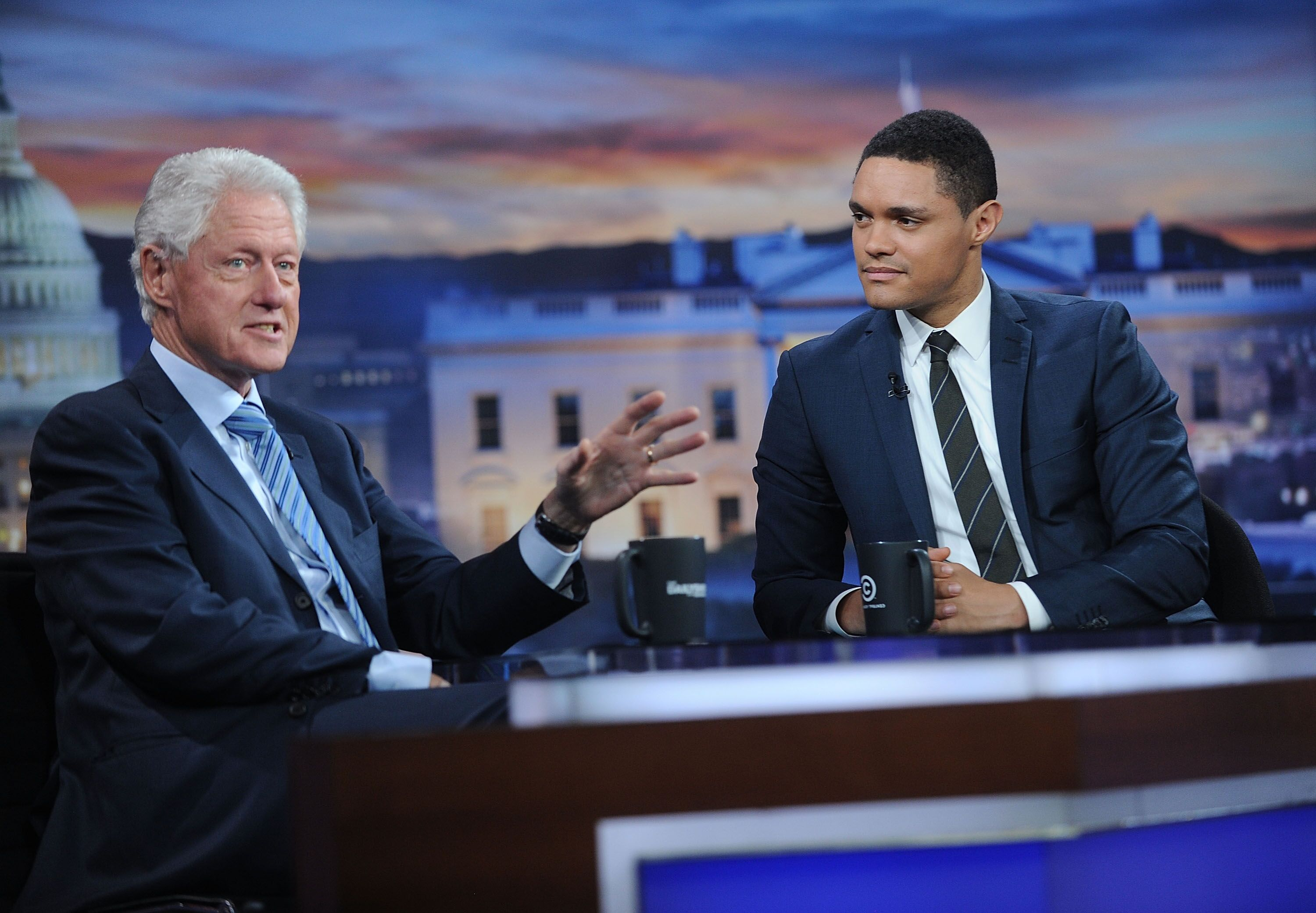 the daily show with trevor noah guests schedule for week of october 3