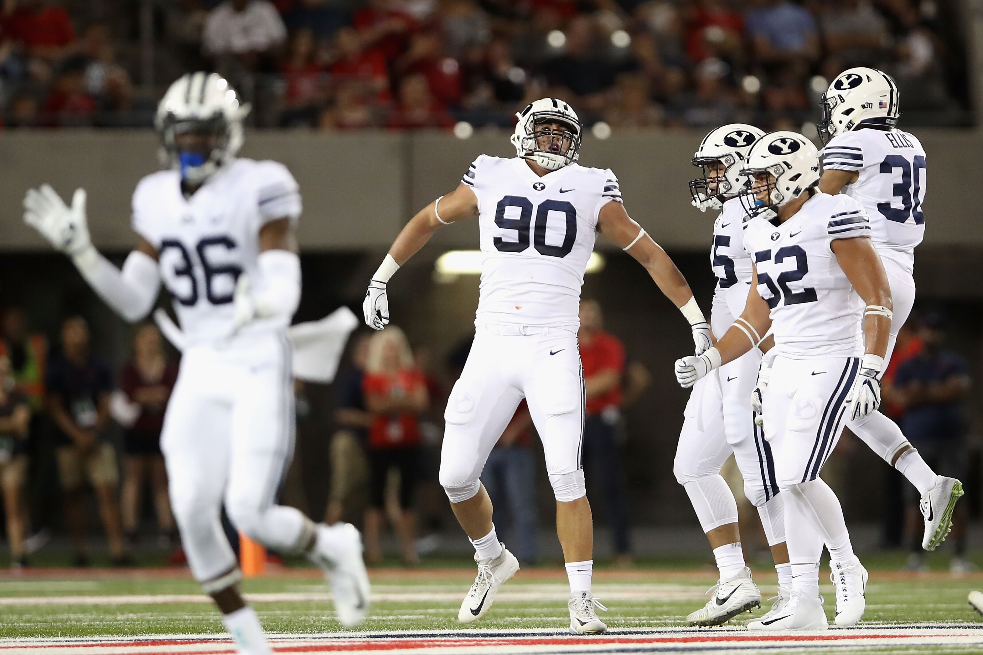 Byu Football Takeaways From The Week 1 Win At Arizona