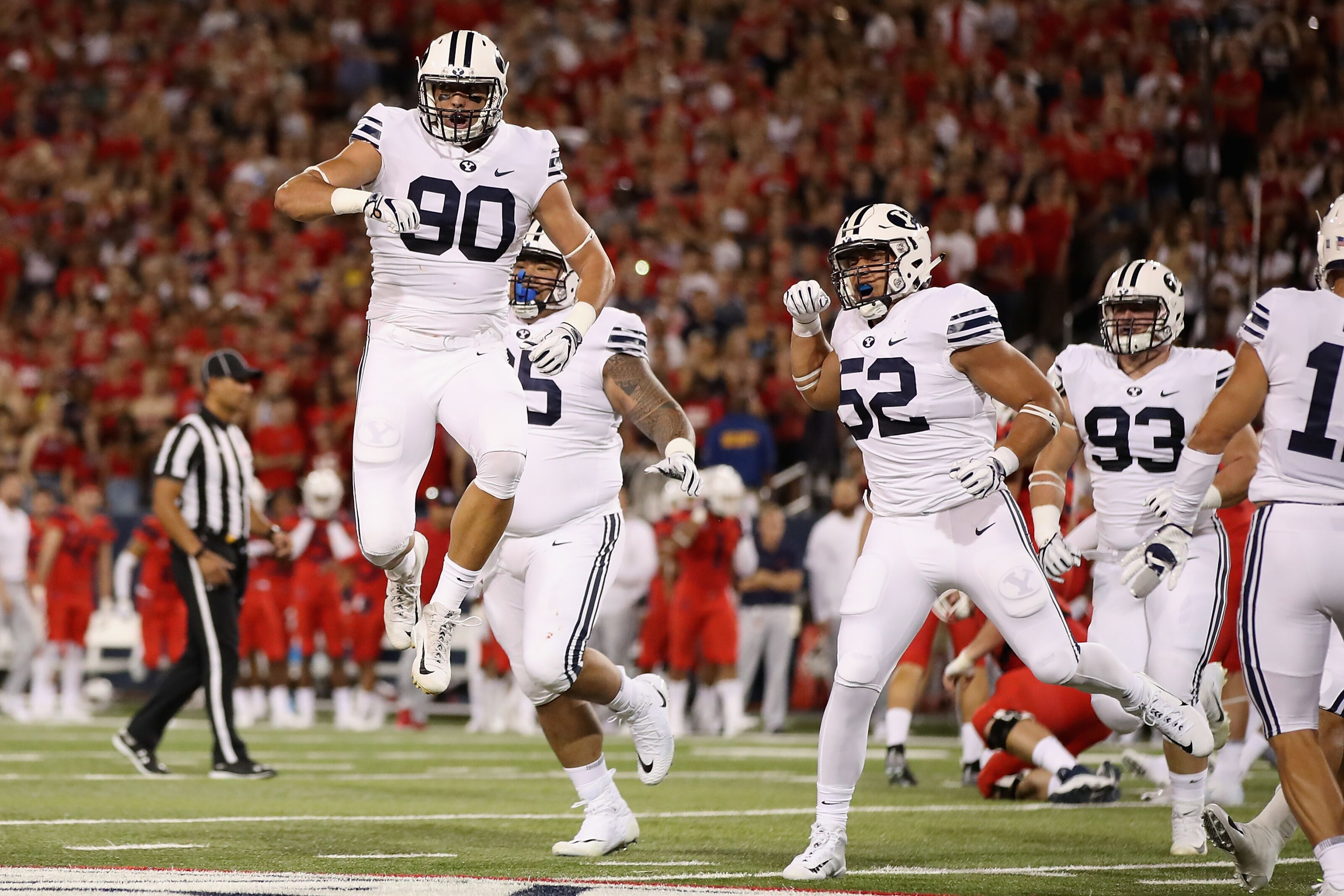 Byu Football Cougars Getting Some Respect After Arizona Win