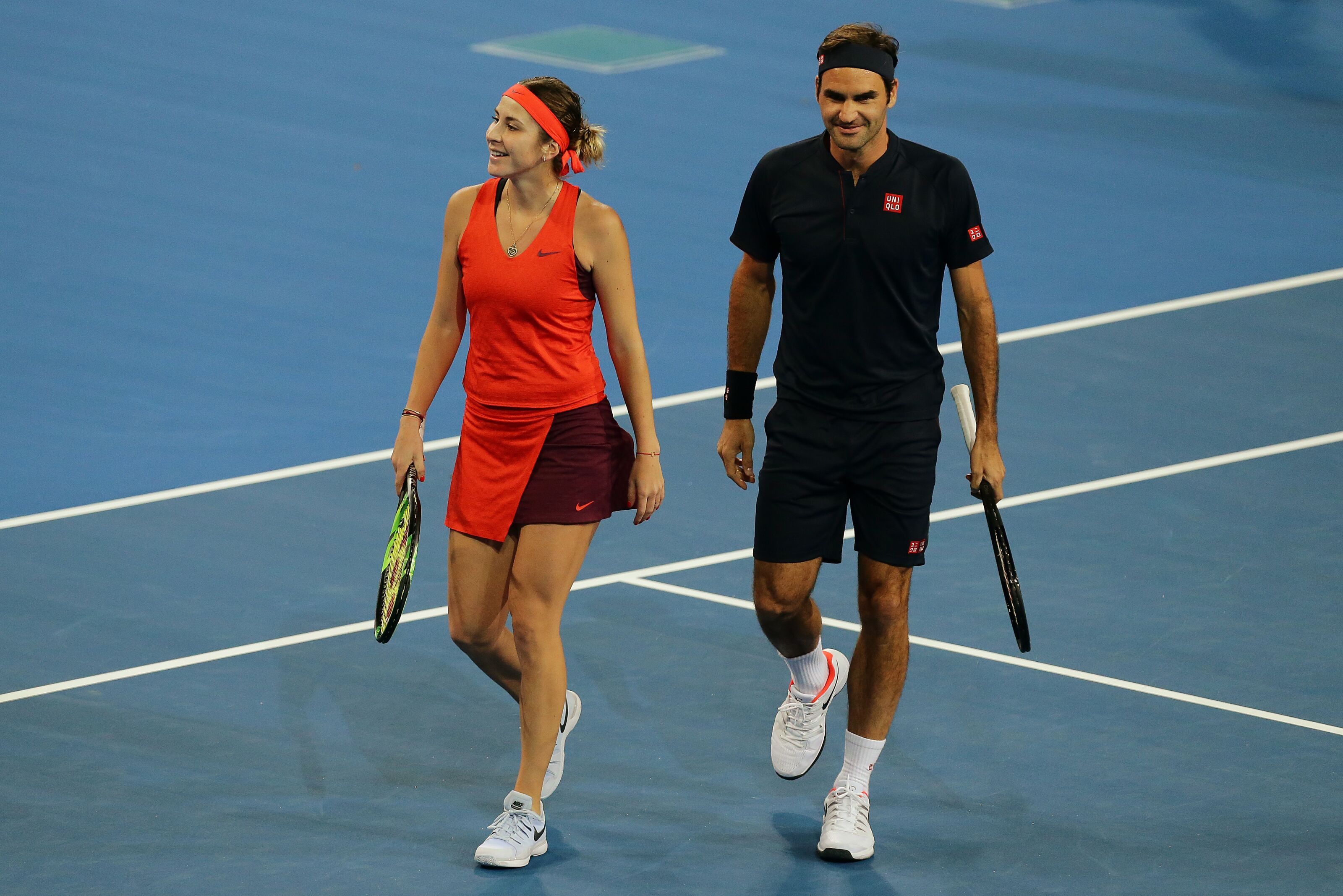 Roger Federer S Hopman Cup Performance Sign Of What To Expect