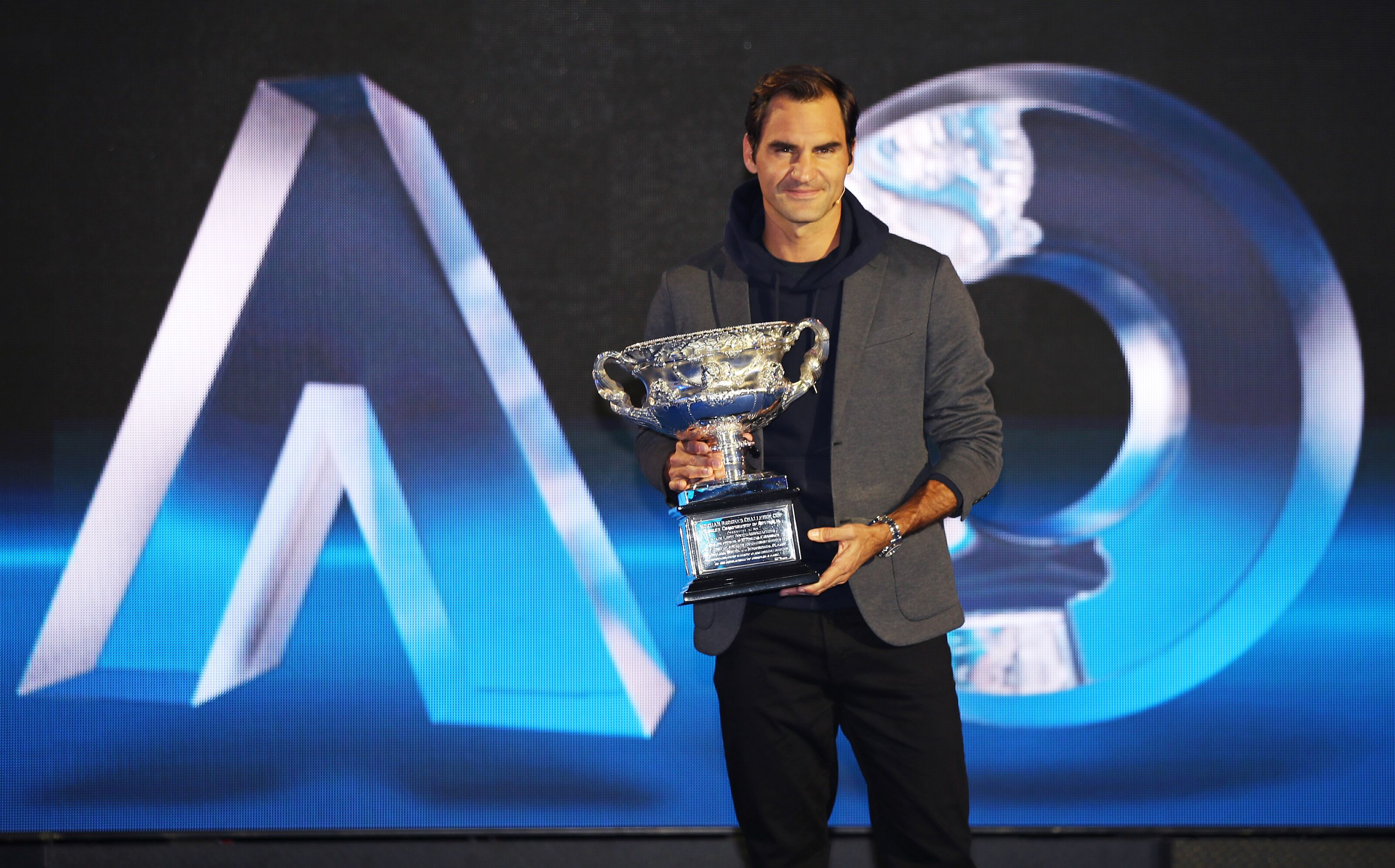 Australian Open Men S Draw Lines Up Roger Federer And Rafael Nadal
