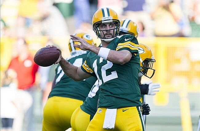Expect Aaron Rodgers to let loose on the Bears. Jeff Hanisch-US PRESSWIRE  photograph f3d605e17