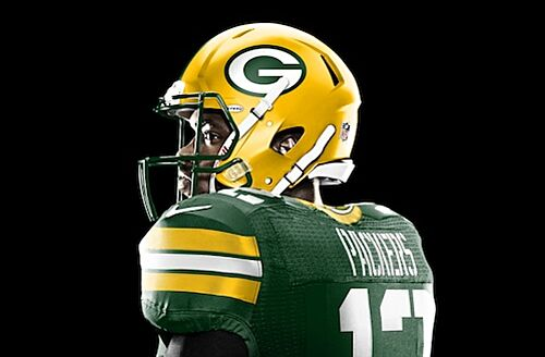 Here is one look at the proposed change to Packers uniforms. f1d9ae95e