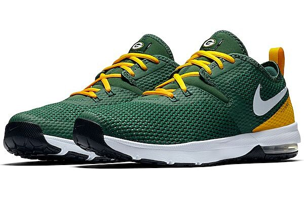 the best attitude b381d de68b Check out these Green Bay Packers Nike Air Max Typha 2 shoes