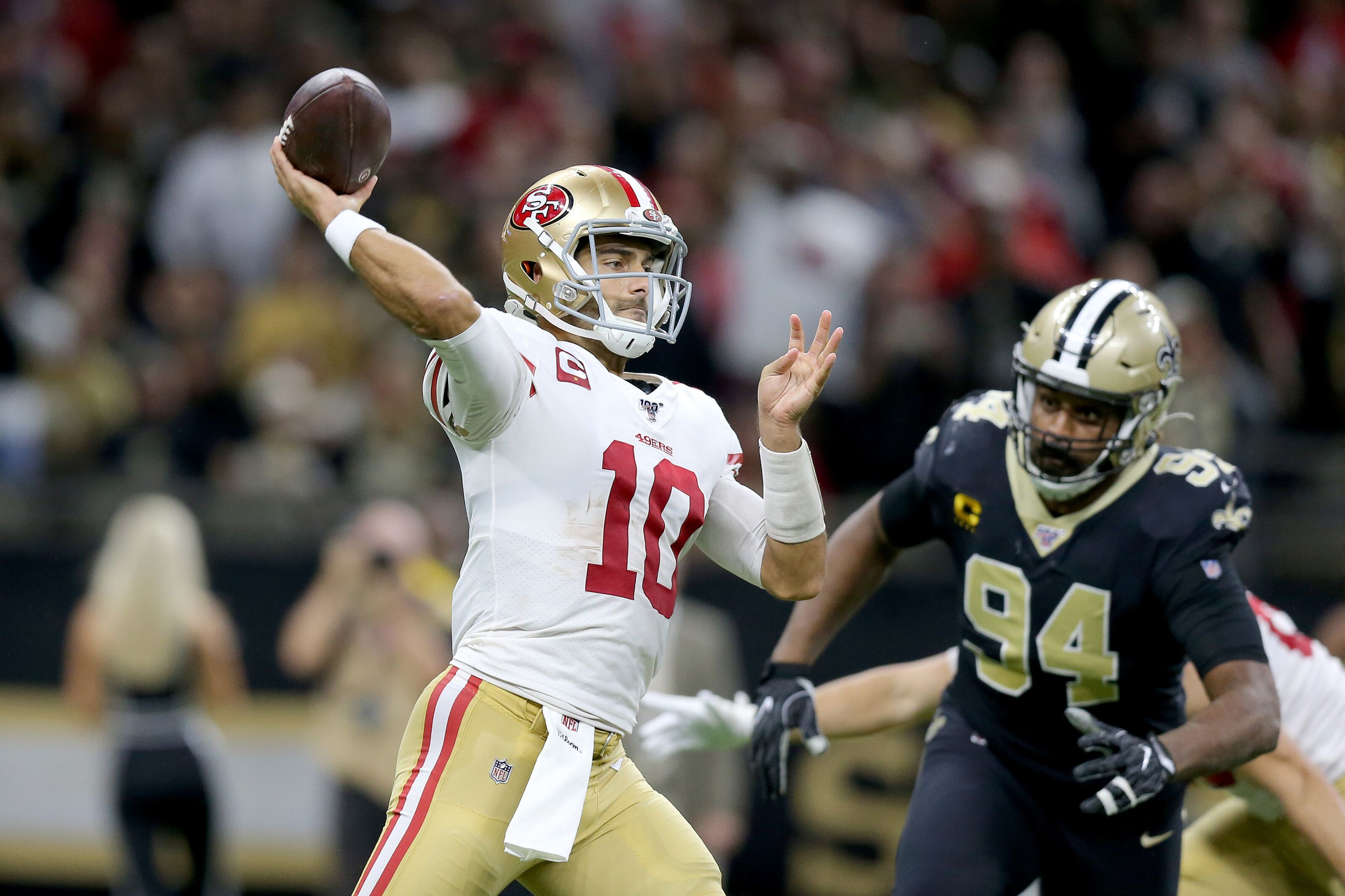Packers' chances of first-round bye improve with 49ers win
