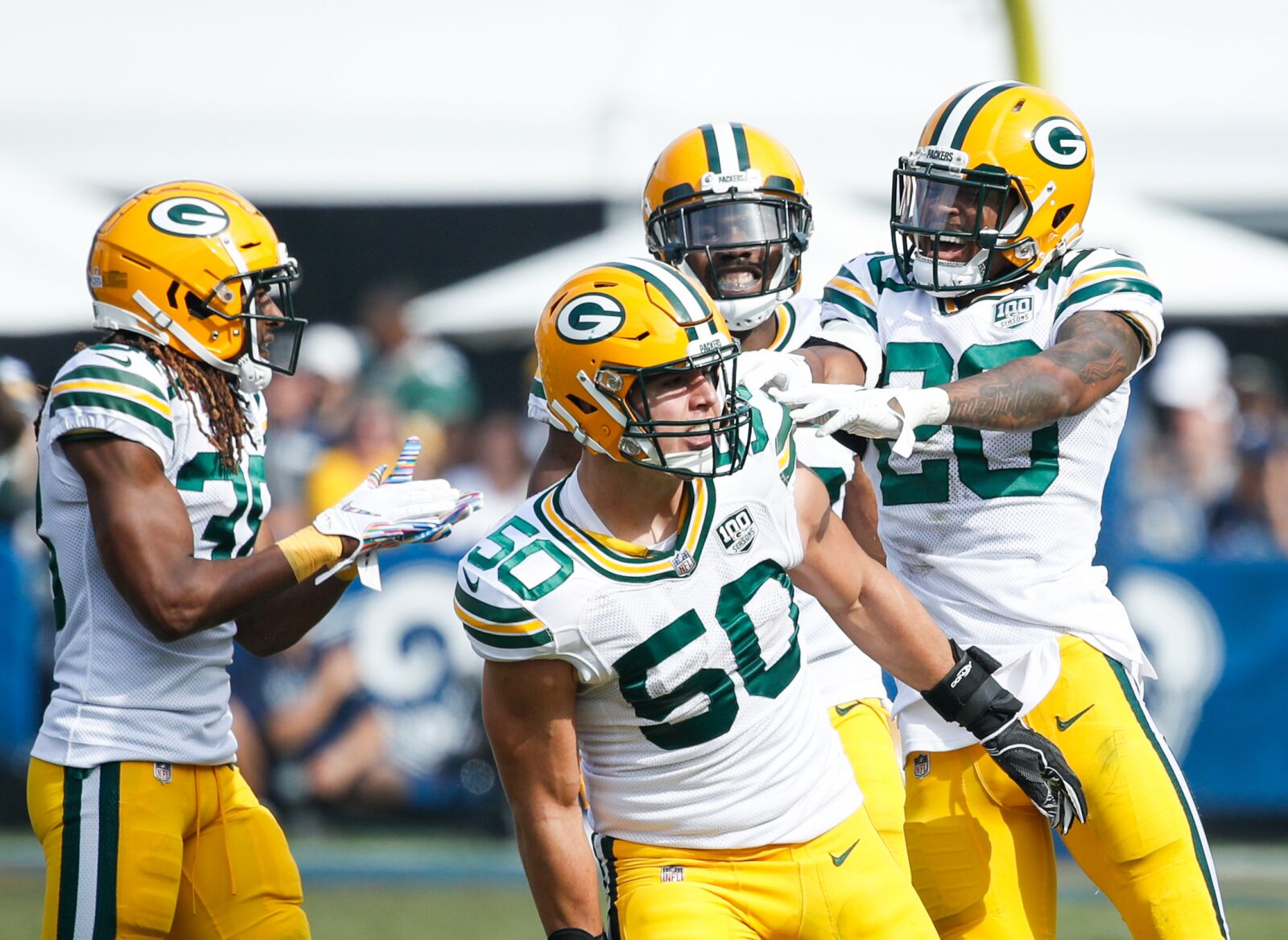 Packers: Blake Martinez is PFF's highest-graded linebacker in NFC North