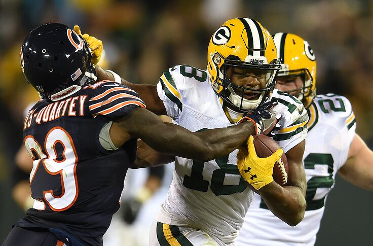 low priced c081e e90ac Green Bay Packers to wear color rush uniform vs. Chicago Bears