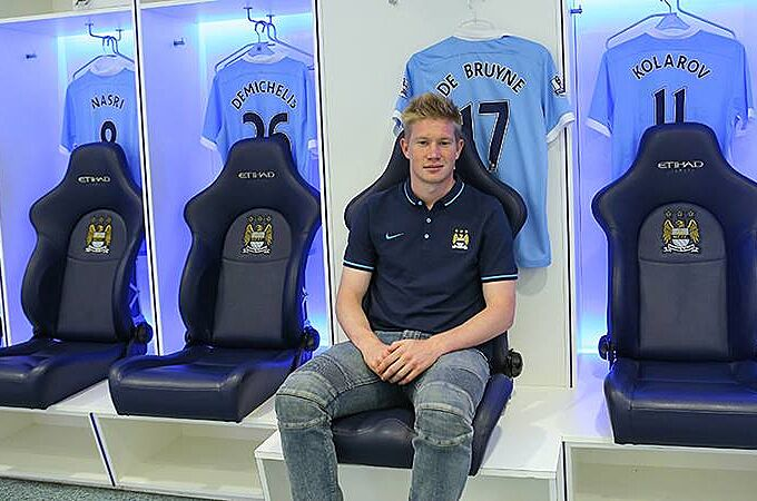 purchase cheap abb28 4135d Kevin De Bruyne Should Start Right Away For Manchester City