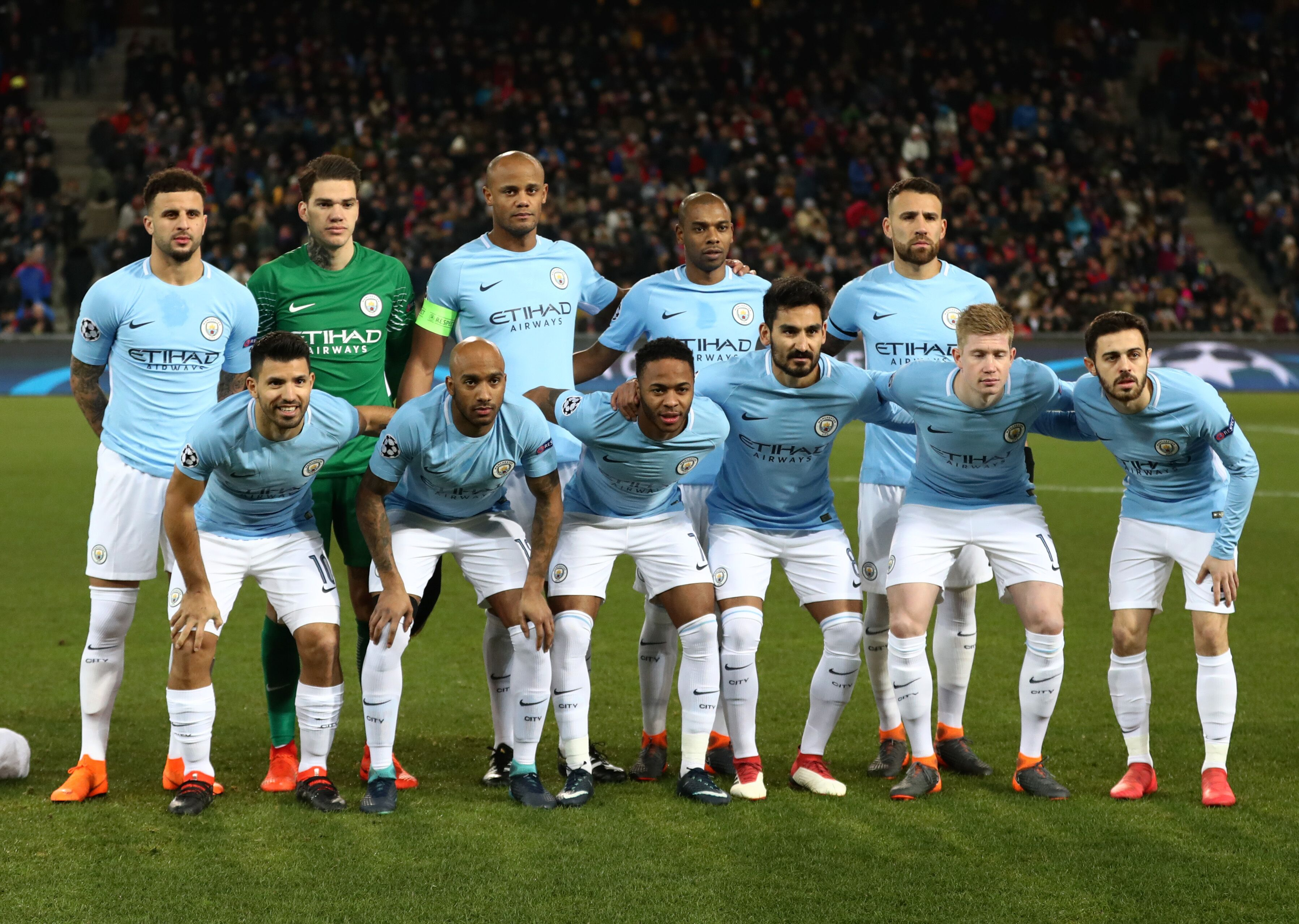 Image result for manchester city 2018 champions