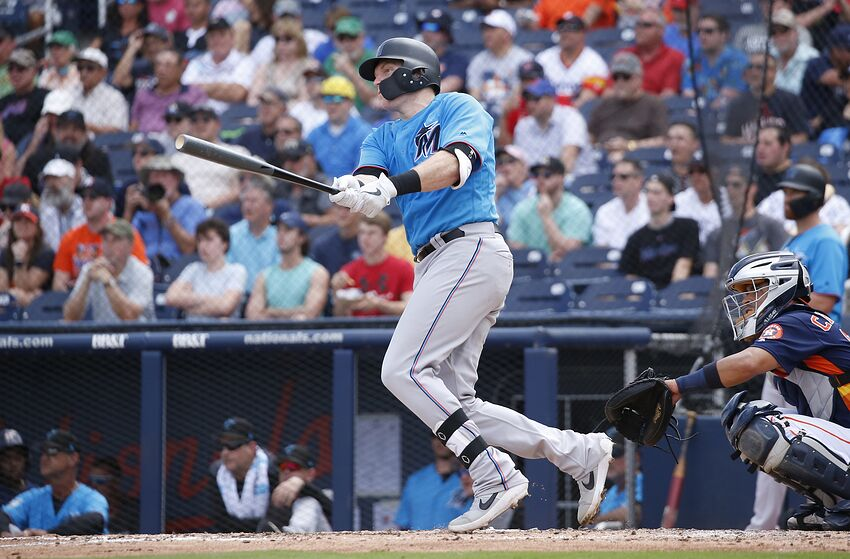 f16fa2863b9 Miami Marlins Spring Training  Who is the Primary Catcher
