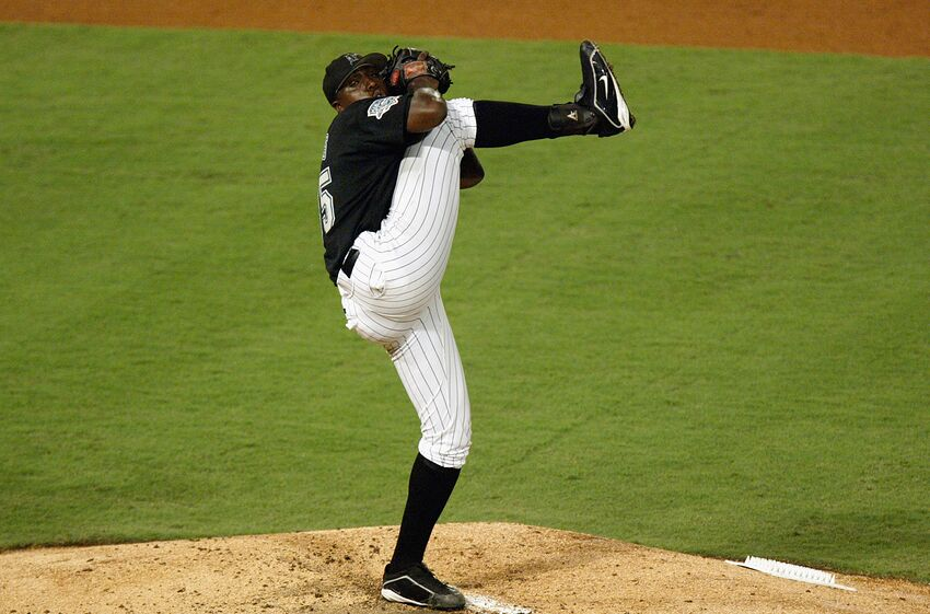 Image result for DONTRELLE WILLIS MARLINS IMAGES