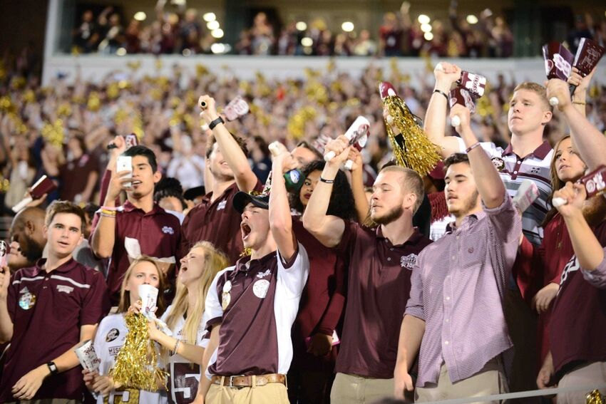 Image result for mississippi state football fans