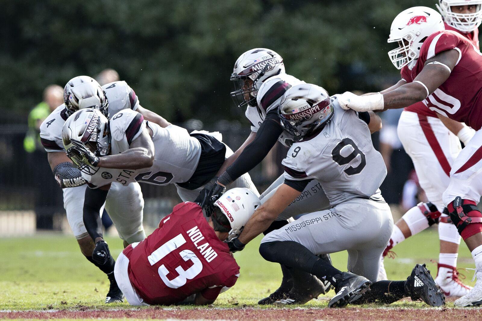 Mississippi State Football Bulldogs Dominate Senior Day Against
