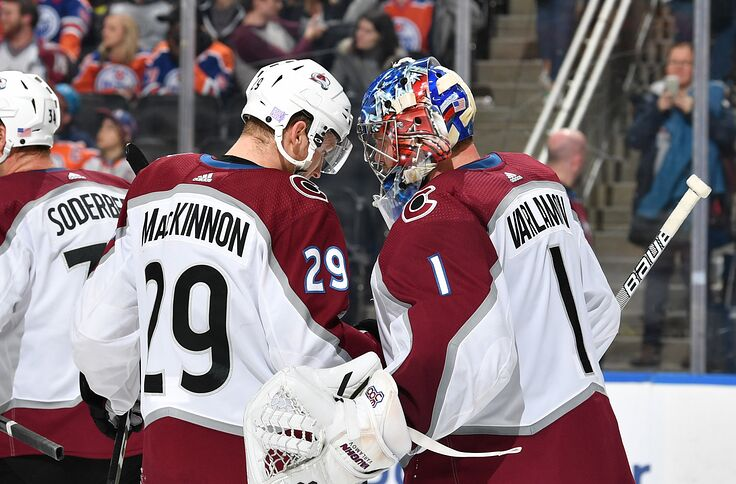 innovative design 0c1db c4ea4 Colorado Avalanche Stop the Hemorrhage, Beat the Oilers