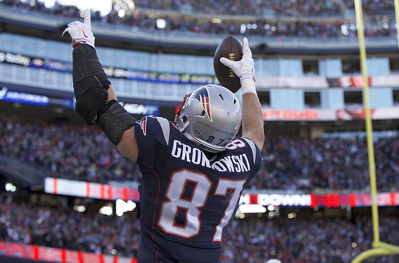 Image result for 2011 patriots gronk