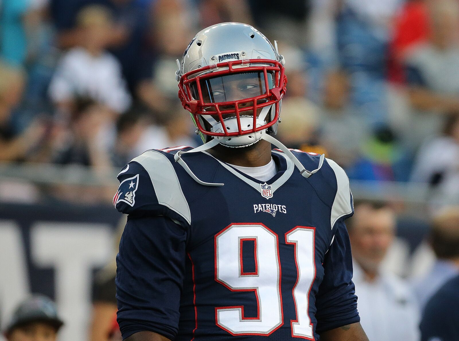 """Jamie Collins """"surprised"""" to be back with Pats, but ready to work"""