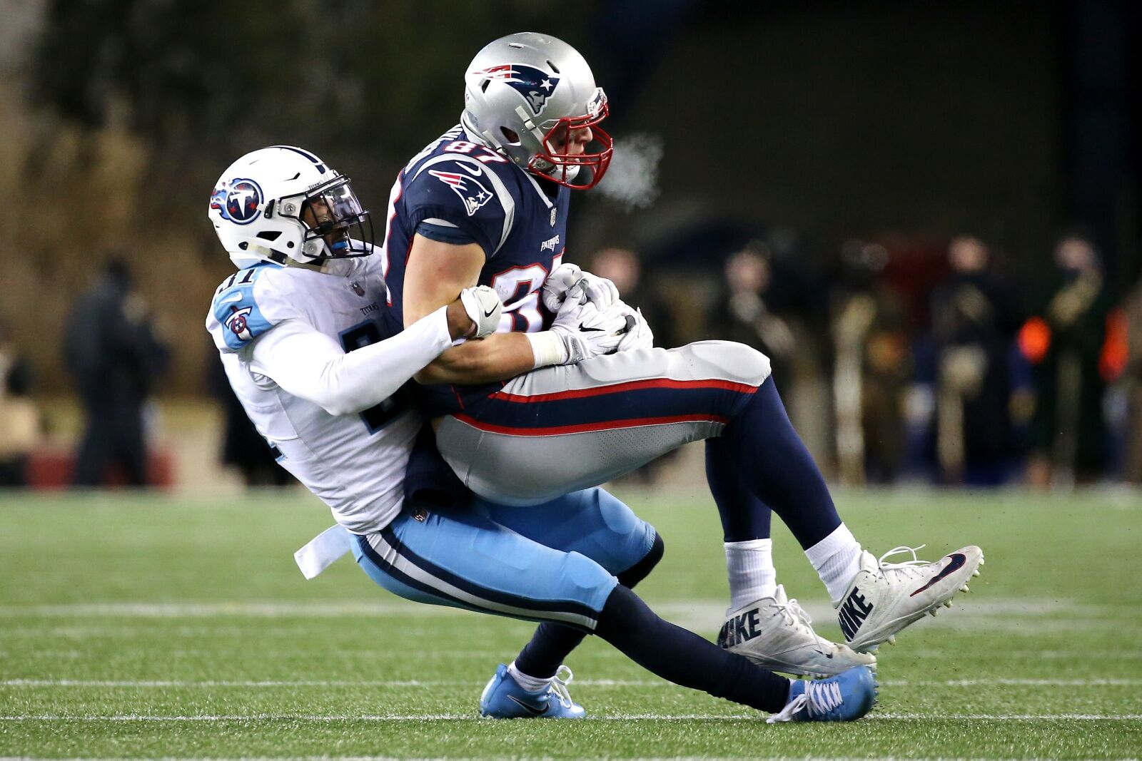 """Tom Brady will """"find a way"""" post-Gronk, says Titans safety"""