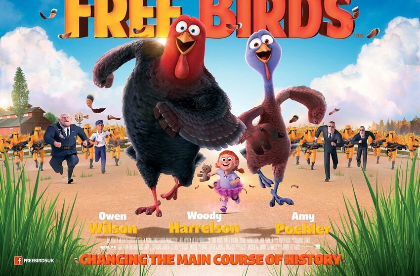 Best Holiday and Christmas Movies on Netflix: Free Birds