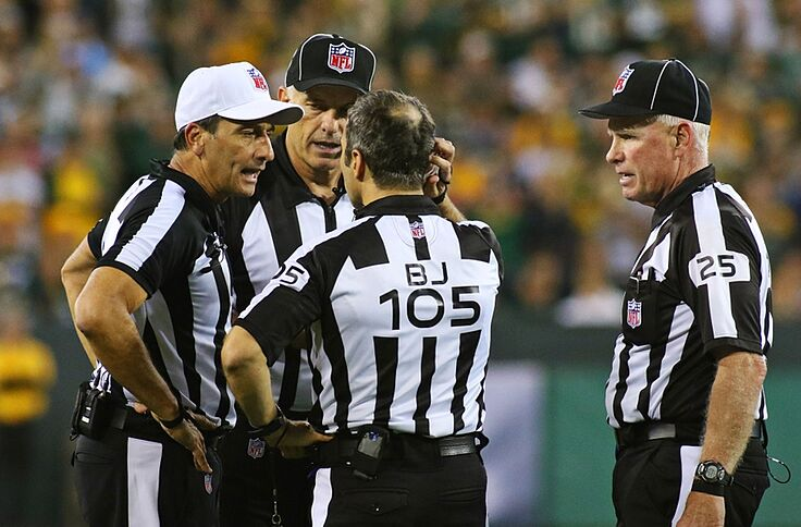Should Nflcollege Referee Do Post Game News Conferences
