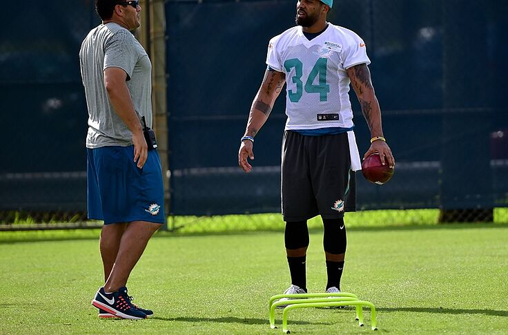 size 40 d9041 ccf4f Miami Dolphins: Arian Foster drawing great early reviews